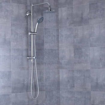 Afa Stainless 8 Rain Shower Head And Hand Shower Combo With