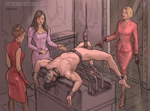 Sexy ballbusting party — photo 8