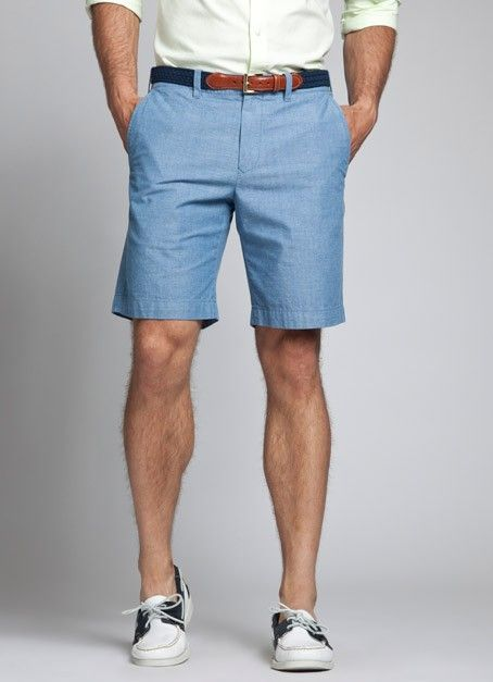 Kneersuckers - Cotton Blue and White Seersucker Shorts | For Dudes ...