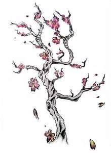 Cherry Blossom Tree Tattoo Designs Blossom Tree Tattoo Cherry Blossom Tree Tattoo Tree Tattoo Designs
