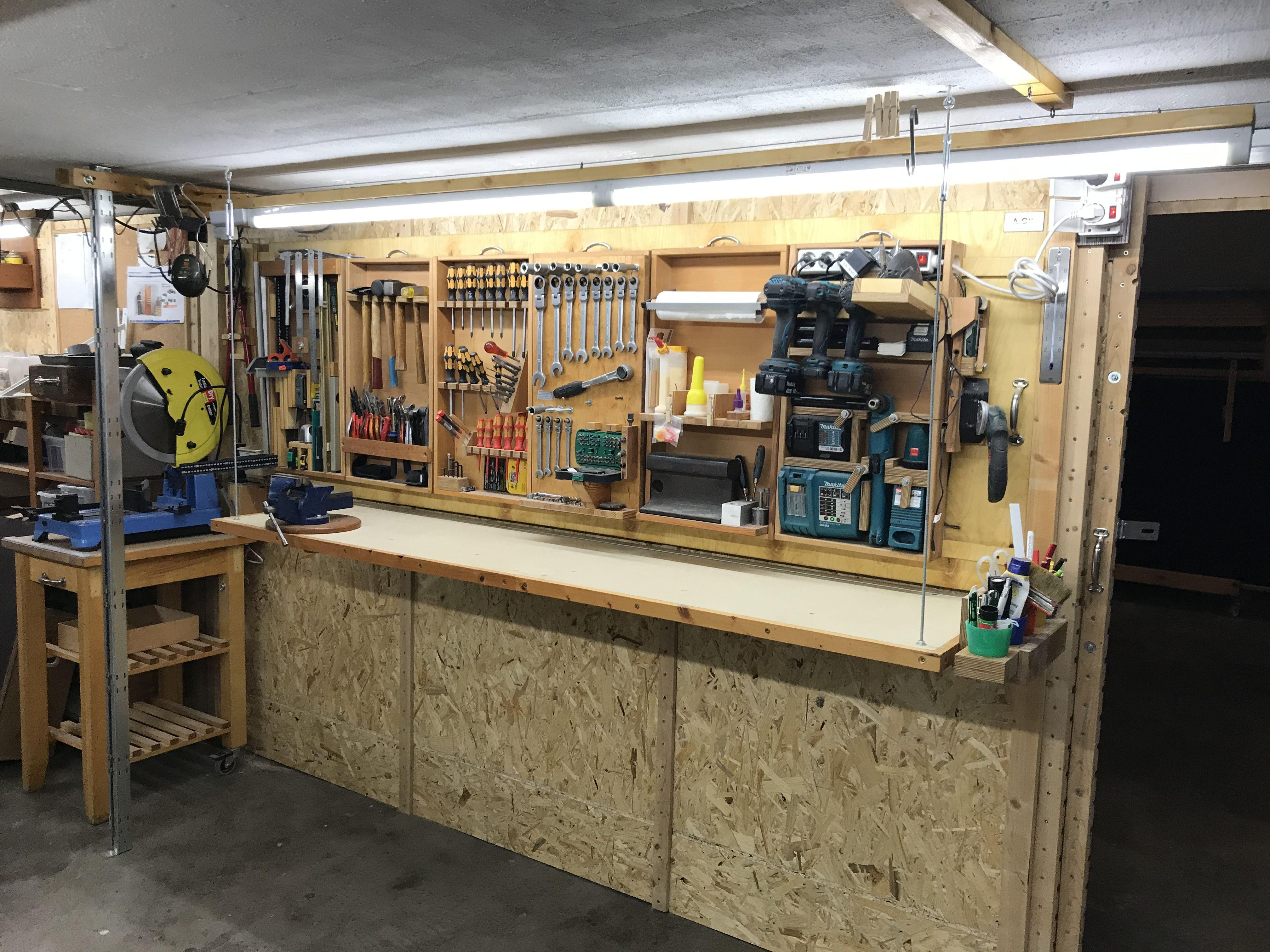 French Cleat Werkzeugaufbewahrung Teil1 Werkzeug Aufbewahrung Werkzeugaufbewahrung Werkbank