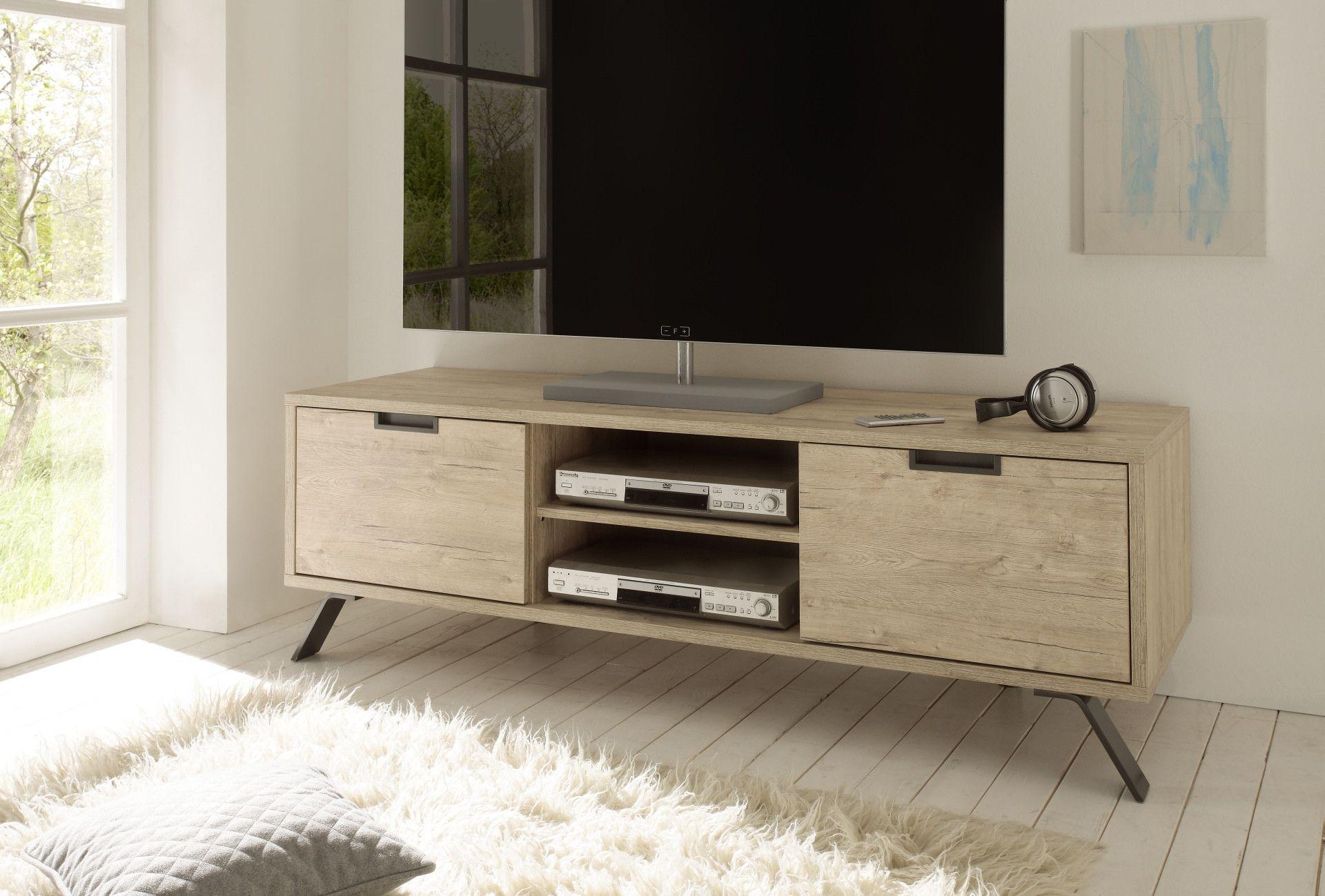 Banc Tv Bois Clair Scandinave Stockholm Meuble Tv Design Mobilier De Salon Meuble