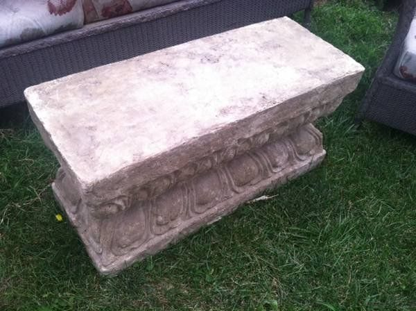 Faux Stone Block | Stone blocks, Faux stone and Antique painted ...