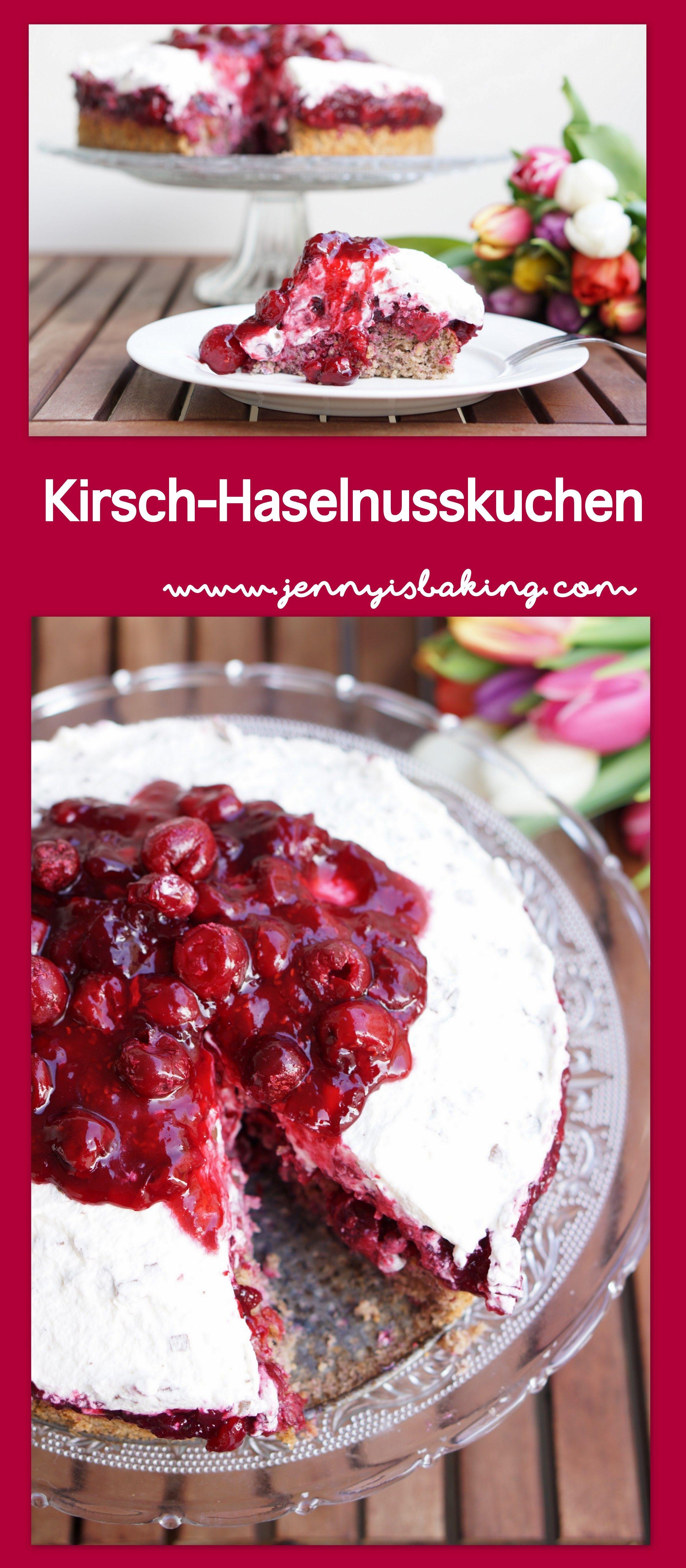 Kirsch Haselnuss Torte Rezept Kuchen Rezepte Crazy Cakes Und Kirschen