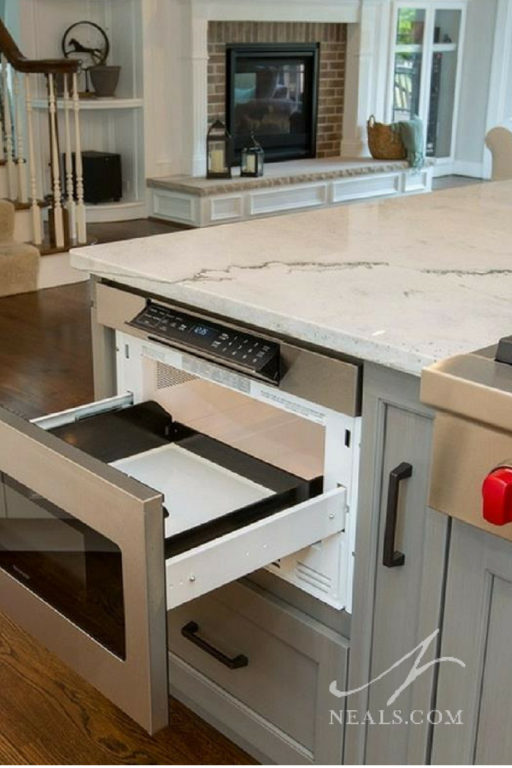 microwave drawer kitchen remodel