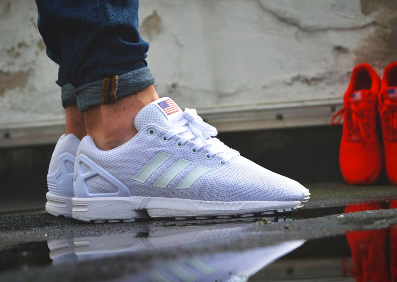 adidas zx flux rose custom