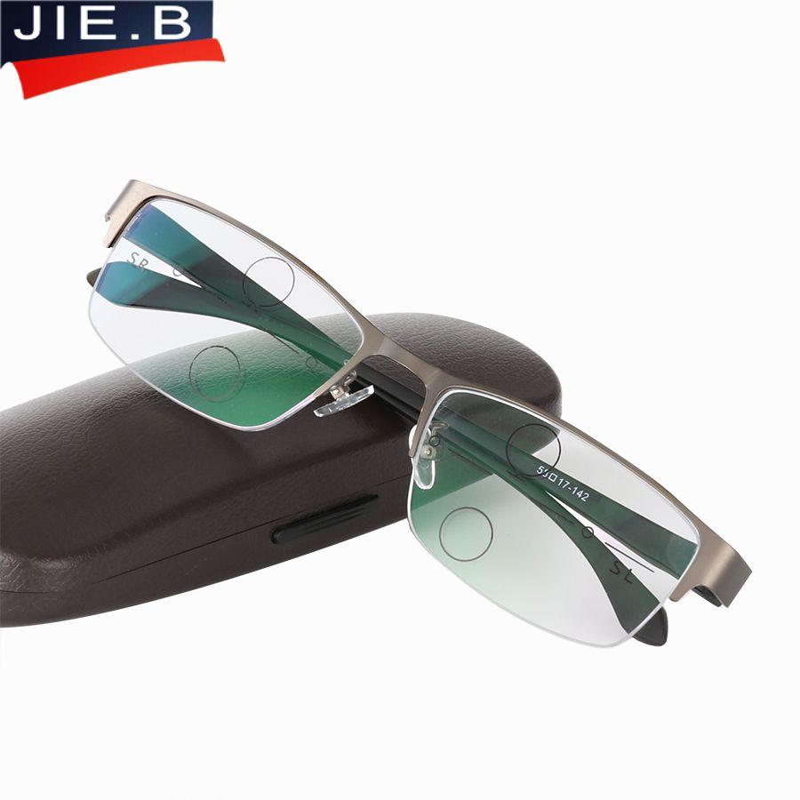 a9a734c41631 Multi-Focal Progressive Reading Glasses Men 1.0 1.25 1.5 1.75 2.0 2.25 2.5  2.75 3.0 Men s Eyeglasses For Read Eyewear Presbyopia