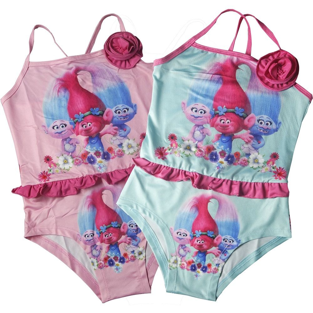 f537e15536 Click to Buy << 2017 Baby Girls Swimwear Troll Moana Frozen Summer Kids One  Piece Swimsuit Children Bathing Suit Kids baby Girl Underwear 4-8T  #Affiliate