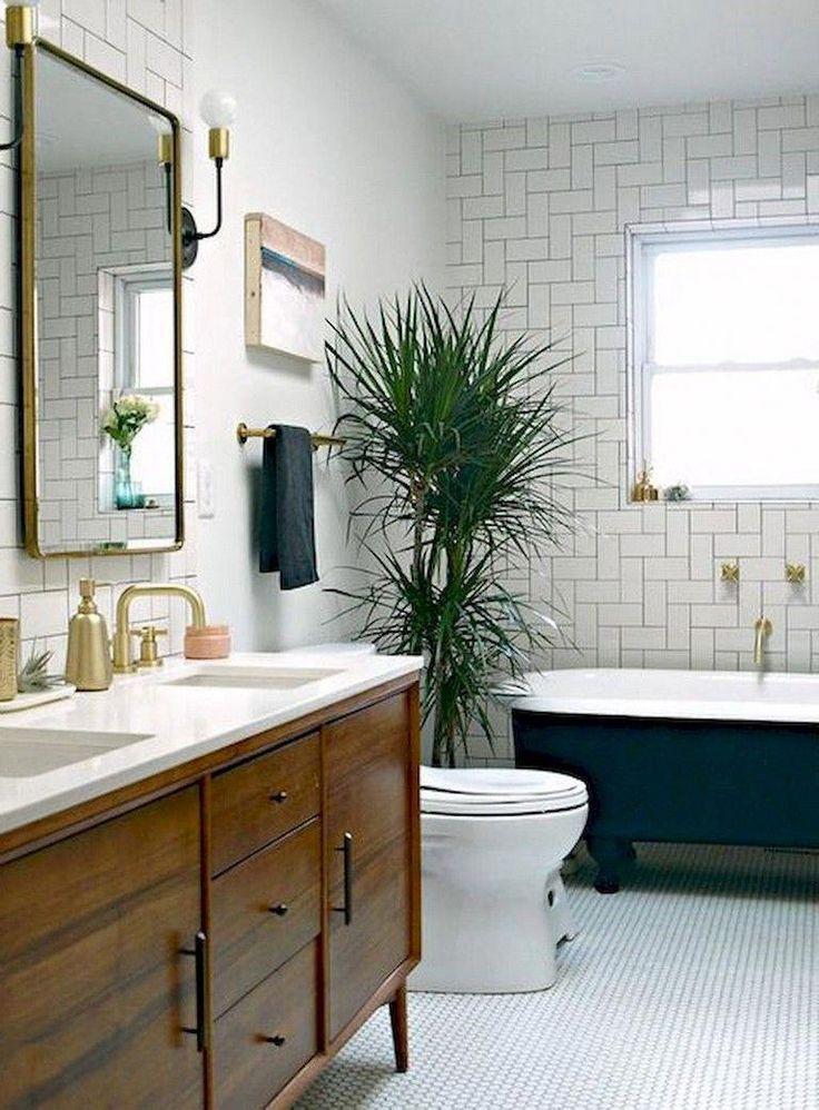 29 amazing modern mid century bathroom remodel ideas
