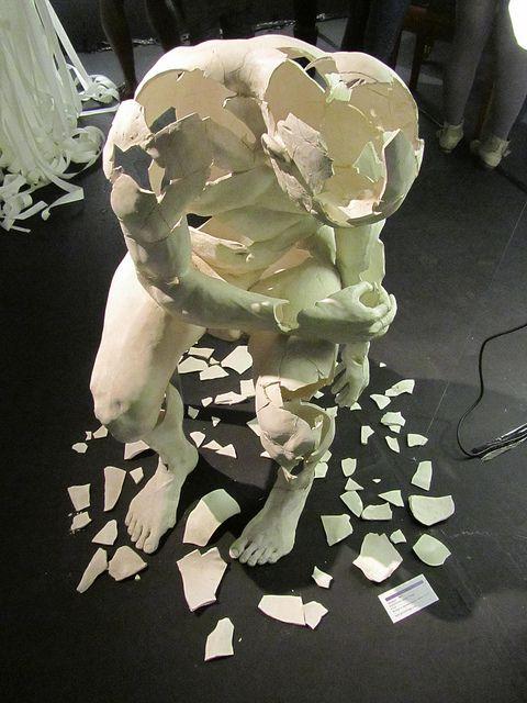 Title A Broken Man Broken Relationships Sculpture Museum Art
