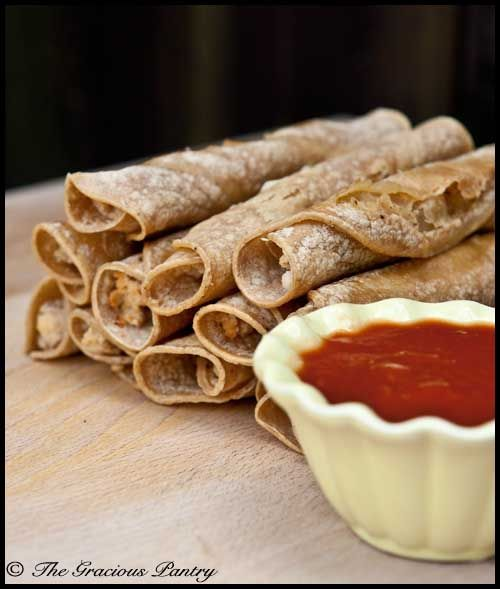 Clean eating taquitos. Made. Yummy