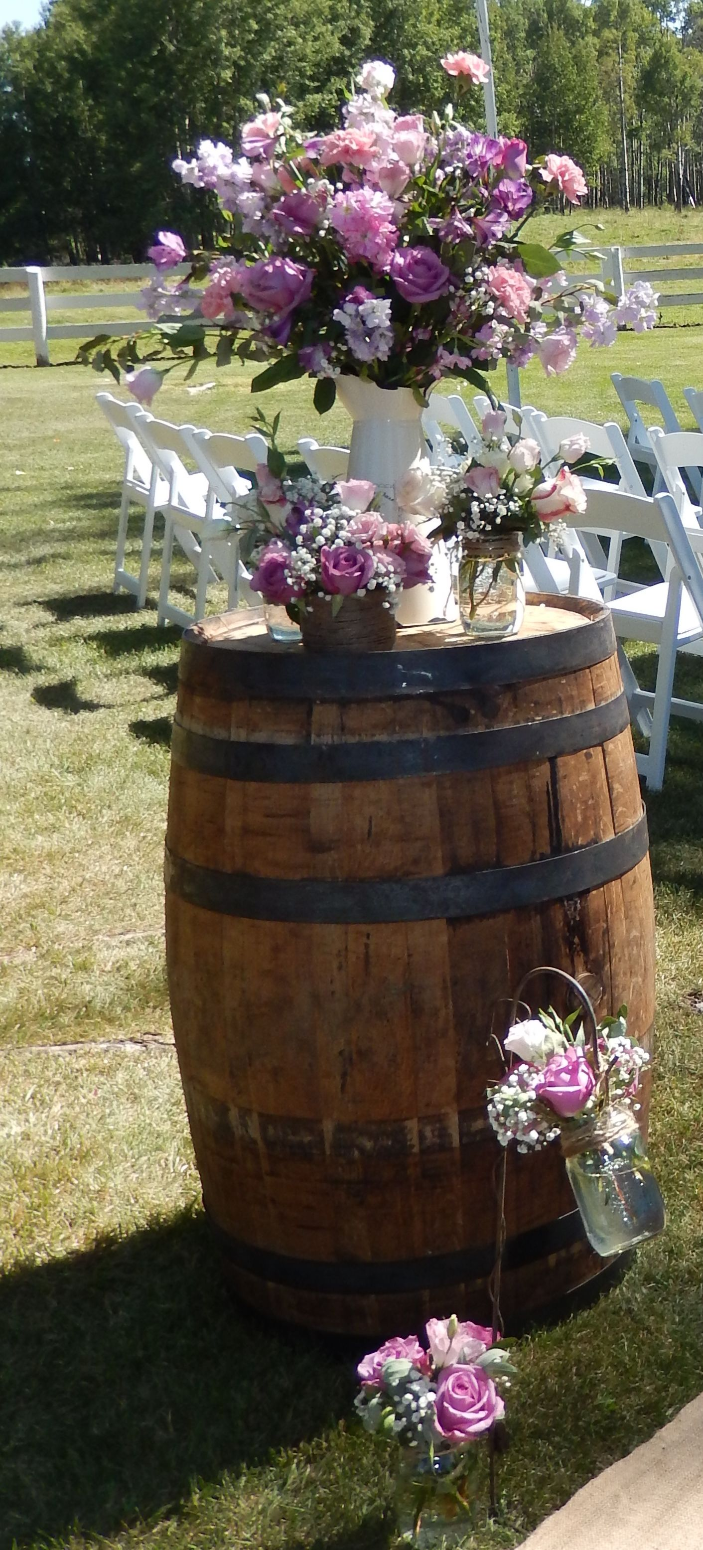 Whiskey barrels matri pinterest whiskey barrels wedding