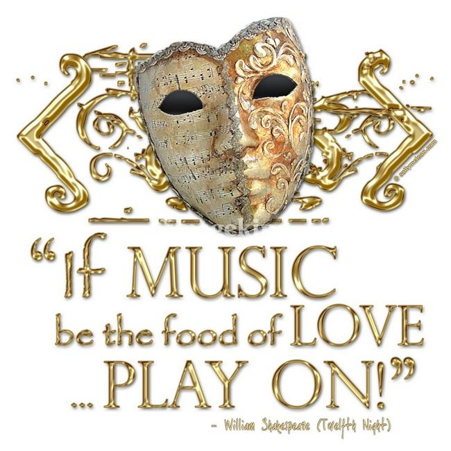 Twelfth Night Music Quote By Sally Mclean