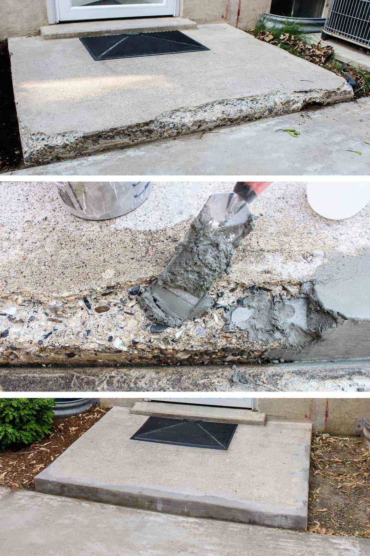 How to Fix Chipped Concrete Steps is part of home Improvement Exterior - Does your home need a little curb appeal  Maybe you need to fix chipped concrete steps  Here is a simple stepbystep process to repair concrete steps