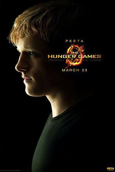 Poster The Hunger Games Los Juegos Del Hambre Peeta In 2018