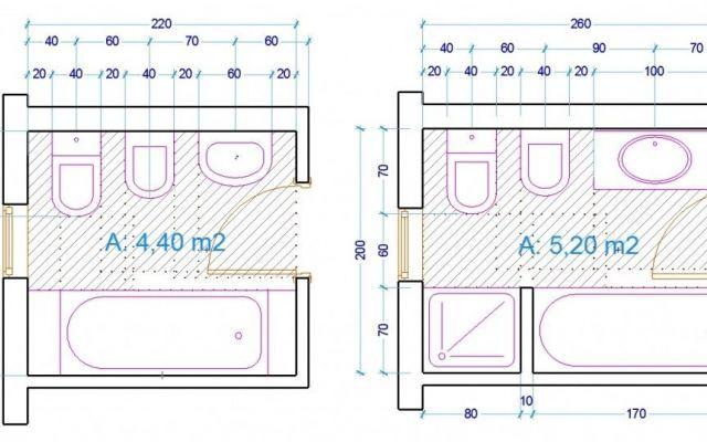 Il bagno come progettarlo al meglio bagno bagni e - Misure minime di un bagno ...