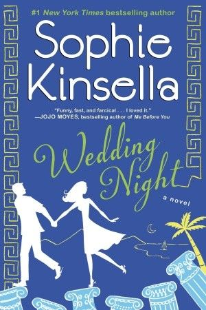 Wedding Night by  Sophie Kinsella. Lottie just knows that her boyfriend is going to propose, but then his big question involves a trip abroad—not a trip down the aisle. Completely crushed, Lottie reconnects with an old flame, and they decide to take drastic action. No dates, no moving in together, they'll just get married . .