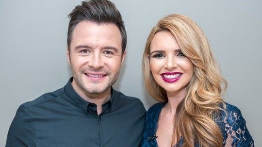 Shane Filan and Nadine Coyle perform new single