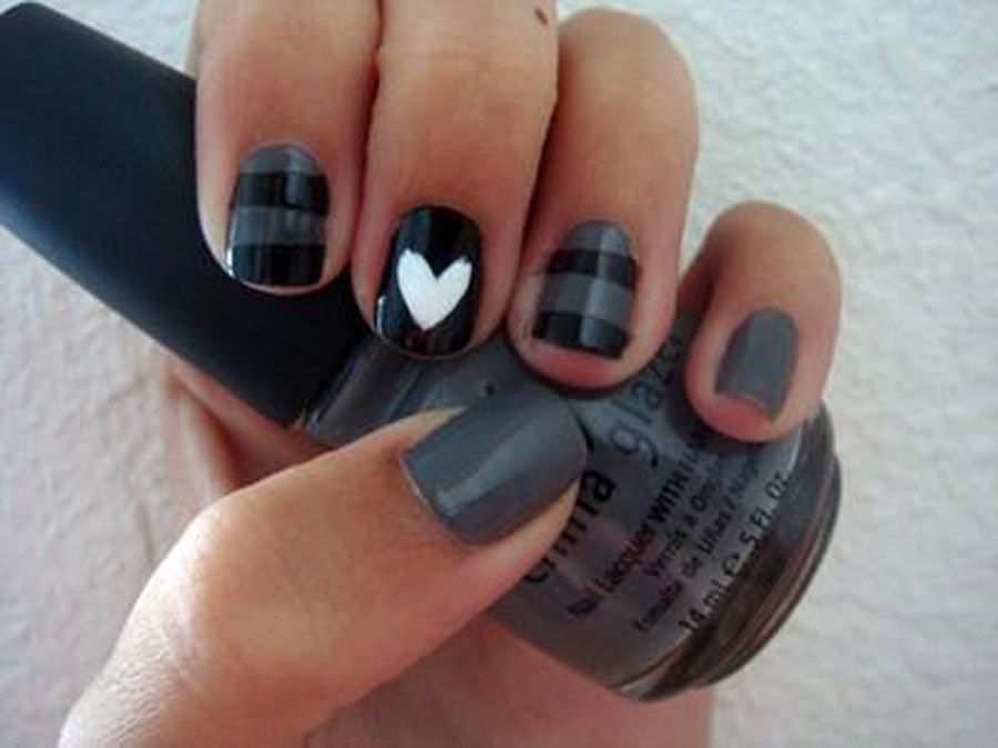 fun nail designs for short nails simple and fun nail designs best hairstyles - Simple Nail Design Ideas