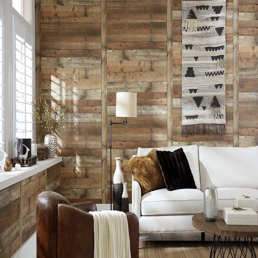 48 In X 8 Ft Smooth Weathered Barnboard Wall Panel Lowes Com Wall Paneling Mdf Wall Panels Bedroom Wall