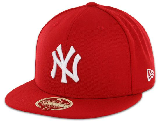dfaf20588 Red New York Yankees Heritage Series 59Fifty Fitted Cap by NEW ERA x ...