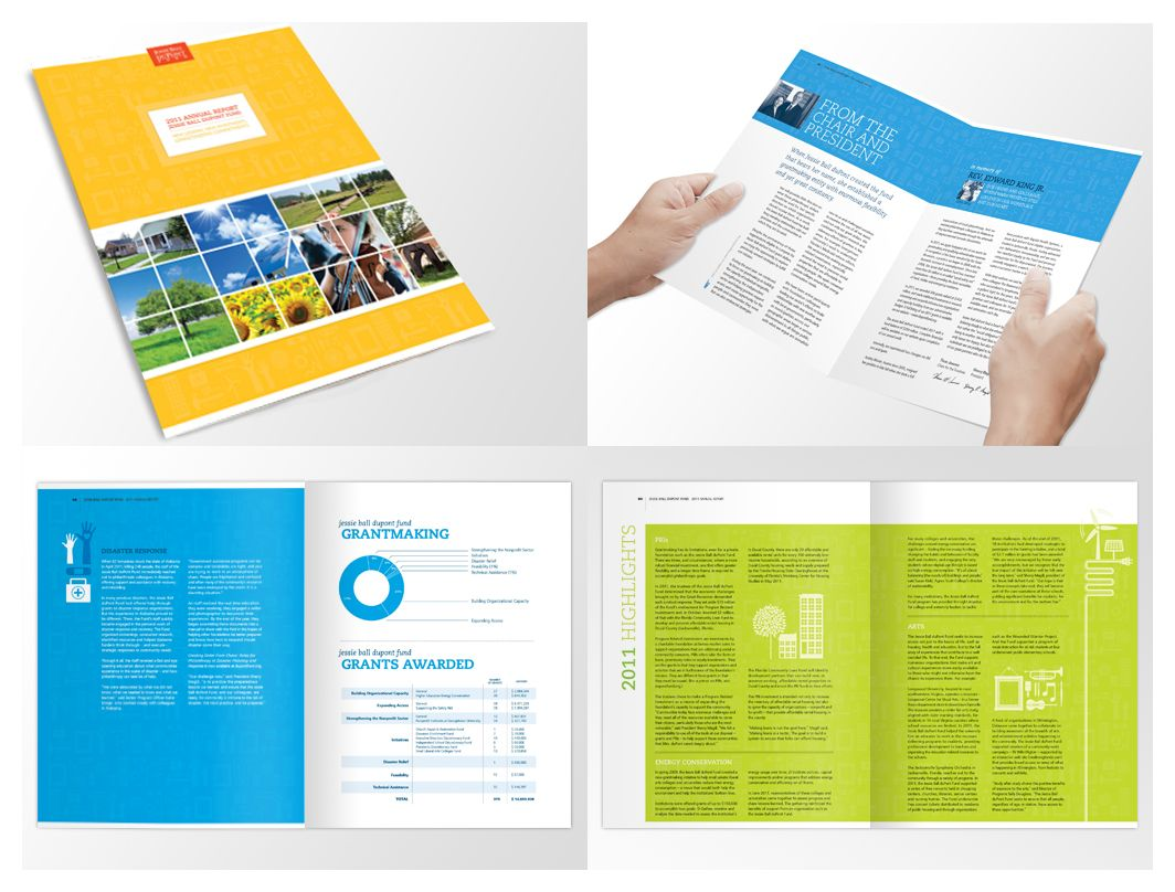 annual report layout - photo #40