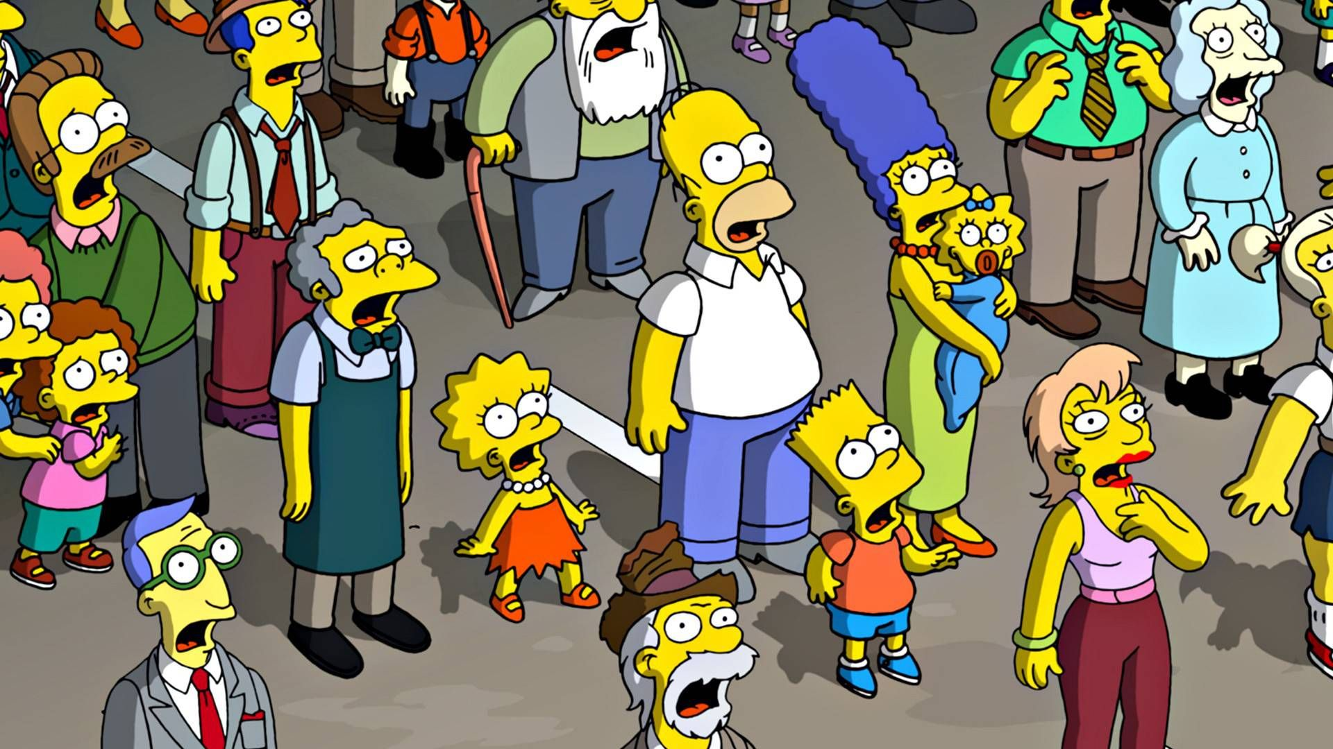 The Simpsons Apple Wallpaper Desktop #1822 Wallpaper .