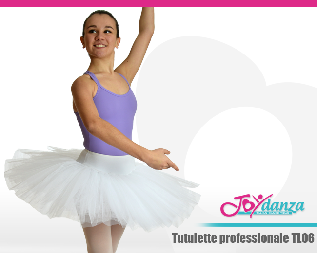 con gonna a tut/ù Almabner per balletto balletto per bambine con paillettes Tut/ù per bambine