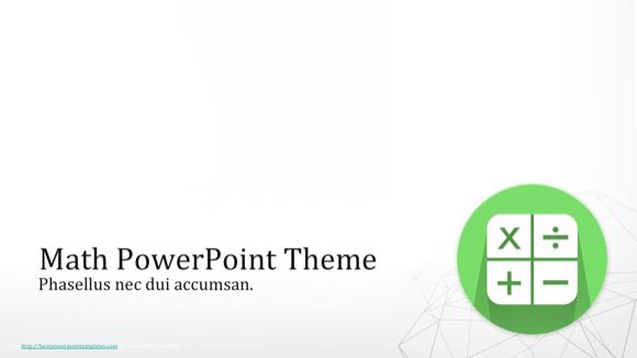 Math powerpoint theme education powerpoint templates pinterest math powerpoint theme toneelgroepblik Images