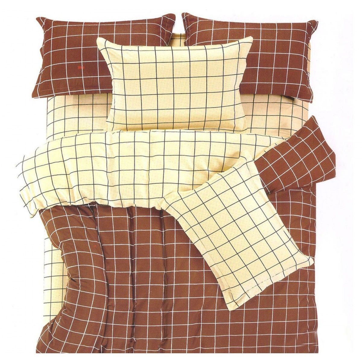 Grid Eclipse Bed Sheet