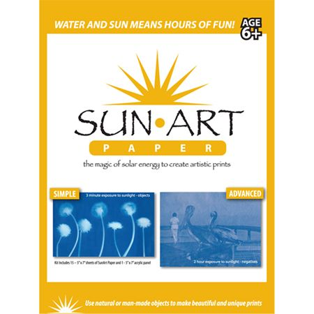 Sunart Paper Kit 5 X 7 Inches Sun Art Sun Paper Art Kit