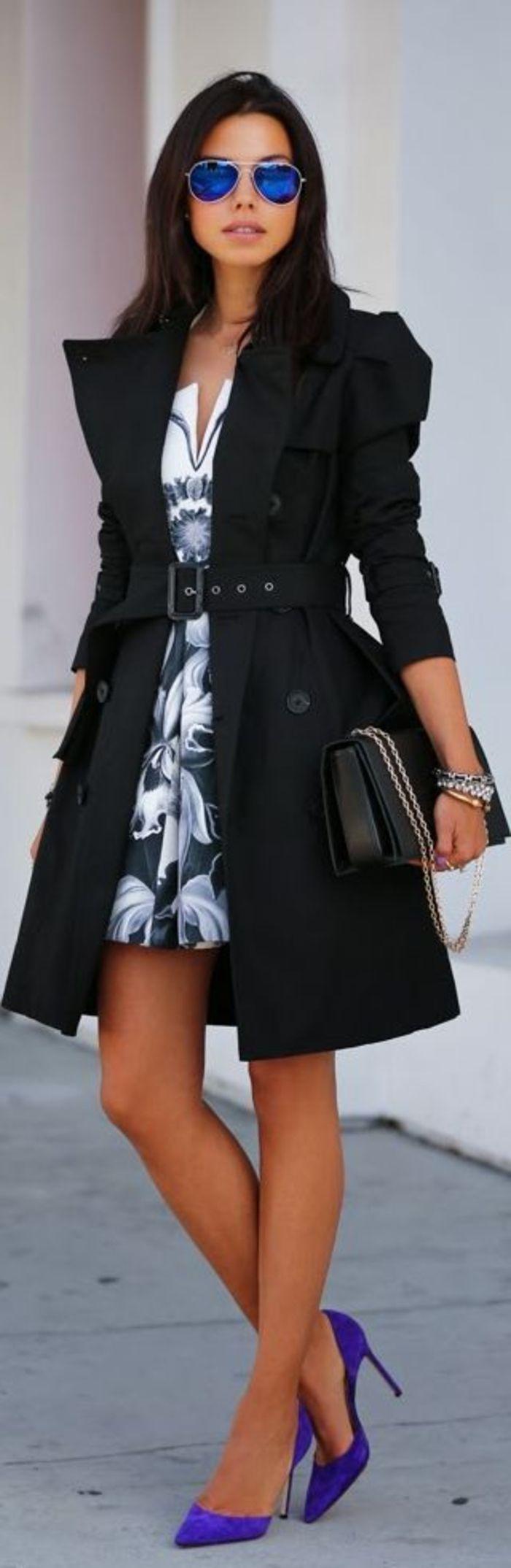 tenue chic femme les meilleures 60 id es fashion pinterest. Black Bedroom Furniture Sets. Home Design Ideas