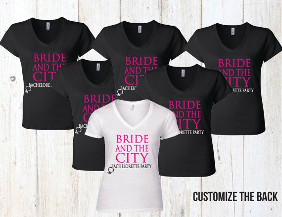 Group Sex And The City Bachelorette Party Shirts By Eventees