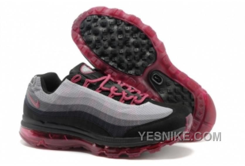 best service 742f1 54494 Cheap 553554 060 Gray Black Red Mens Nike Air Max 95 DYN FW Shoes 2013 Free
