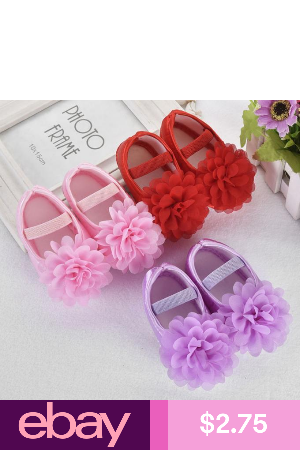 Baby Prewalker Newborn Toddler Girl Crib Shoes Pram Soft Sole Children Anti-slip