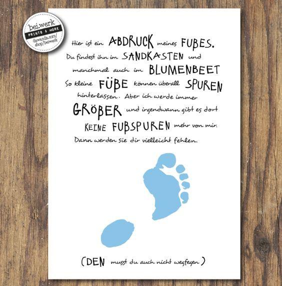35+ Vatertag geschenk baby basteln ideen