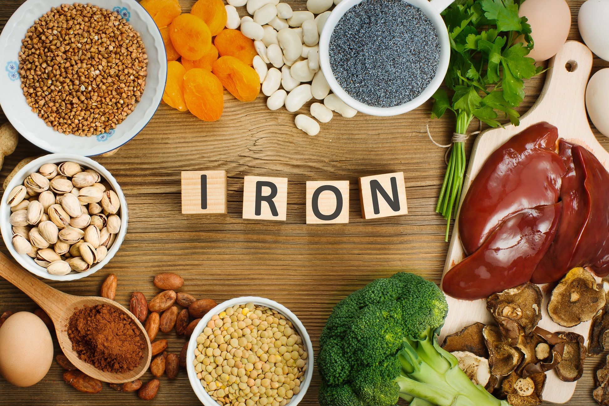 Why Iron Benefits Labor Recovery Foods with iron, Foods
