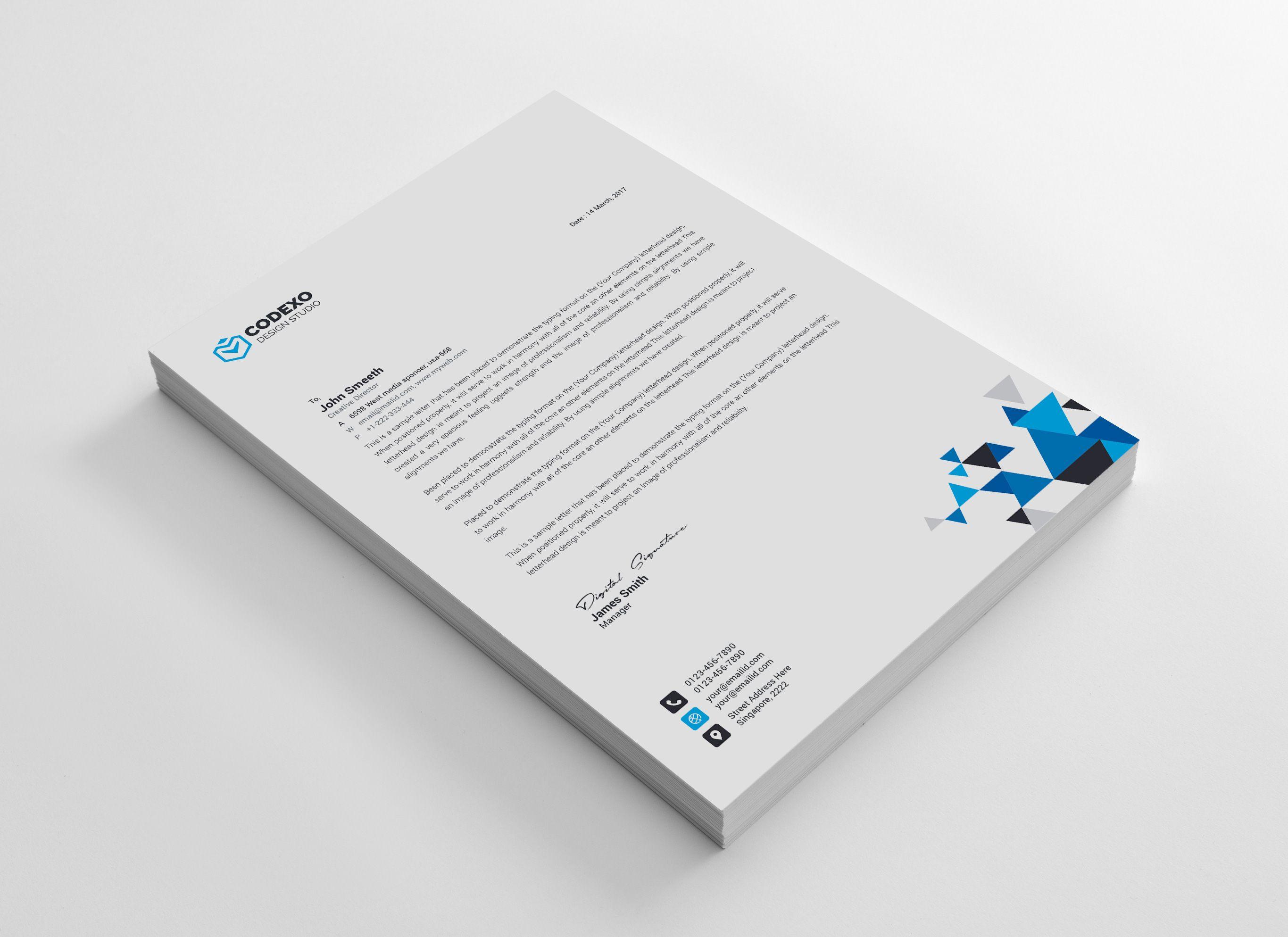 triangle professional corporate letterhead template good retail resume cv fresh graduate example substitute teacher skills