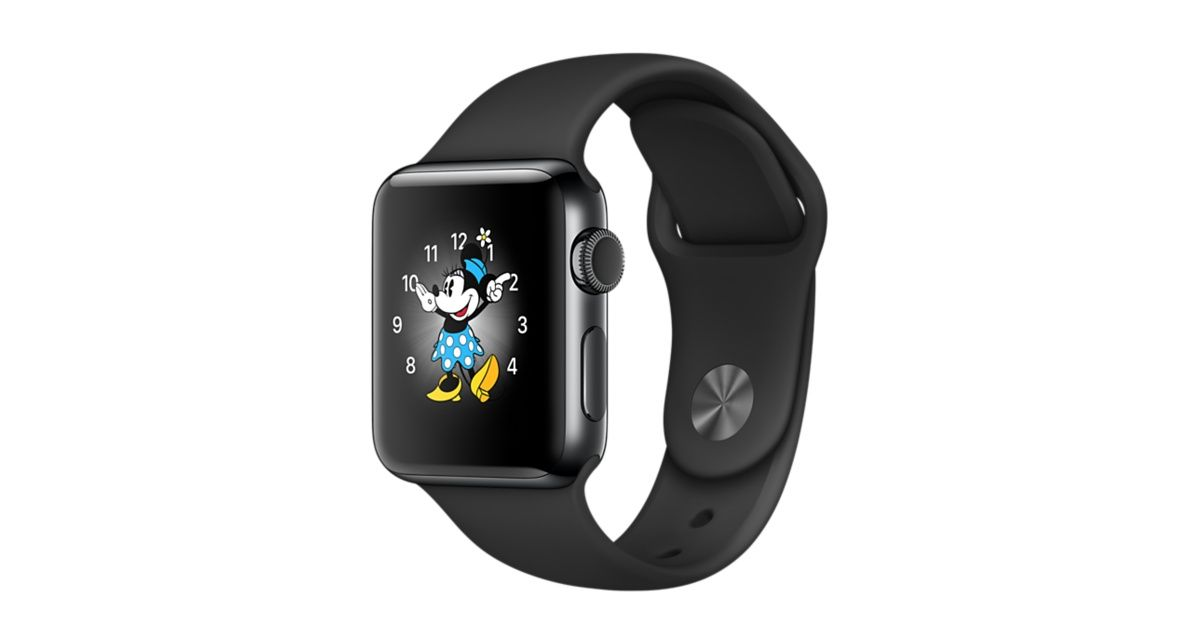 Shop Apple Watch Series 2 Space Black Stainless Steel In 38mm Or 42mm With Built In Gps And Sport Band Apple Watch Apple Watch Space Grey Apple Watch Series 2
