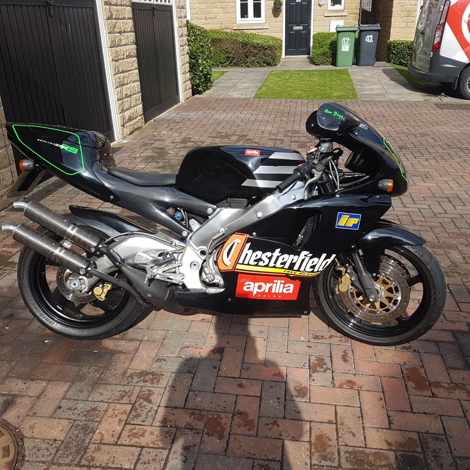 Aprilia RS250 Chesterfield Max Biaggi Race Rep Low Mileage ...