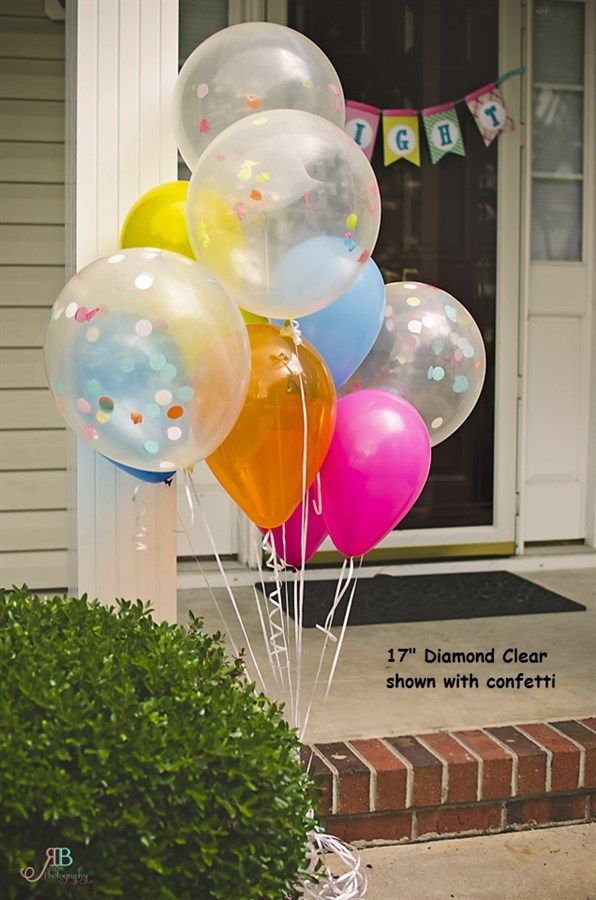 Great for all parties and events. Combine them with larger balloons to create a unique look for a photo shoot, wedding, birthday party, big gathering, summer picnic, or anytime you need to mark your party space!