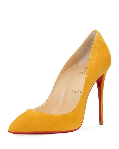 yellow sole shoes christian louboutin
