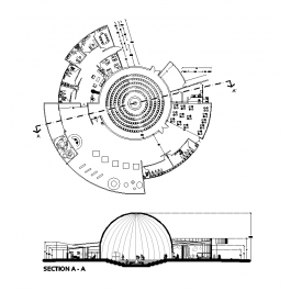 Planetarium CAD drawing | Bc  work | Cad blocks free