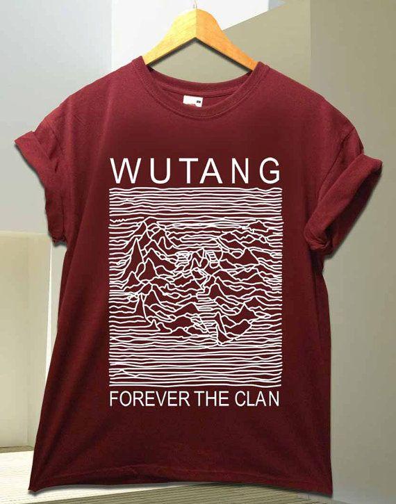 fefb3da202c Wu Tang Clan parody joy division for T Shirt by simaroonshop