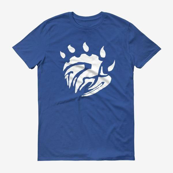 Men Base Logo T Shirt Royal Blue