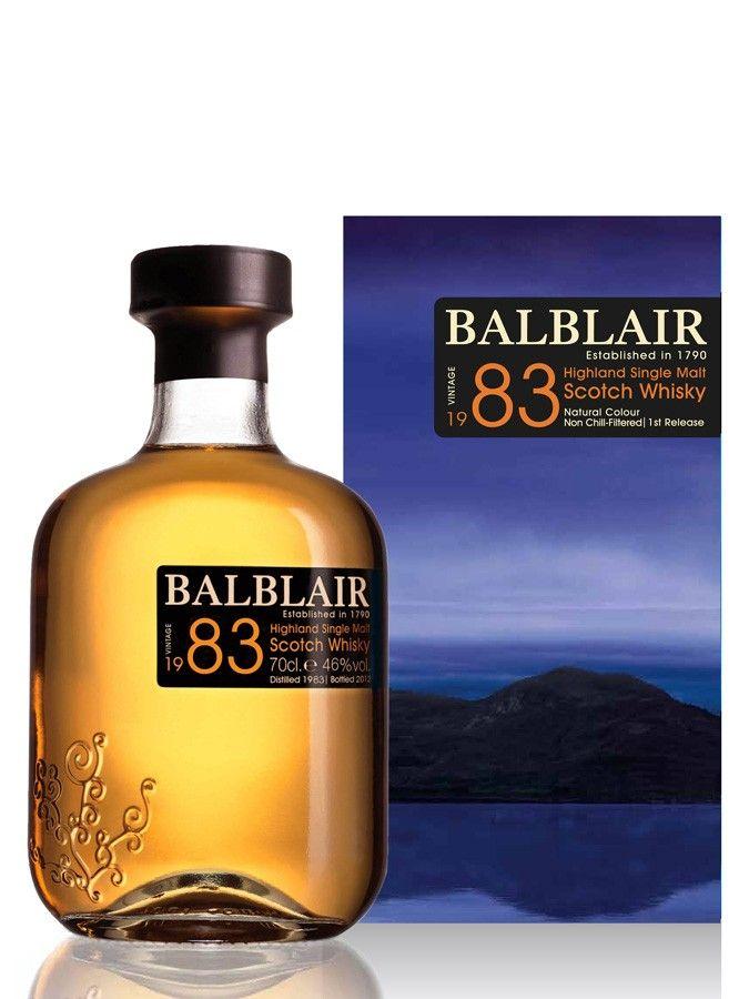 Whisky BALBLAIR 1983 46% - La Maison du Whisky