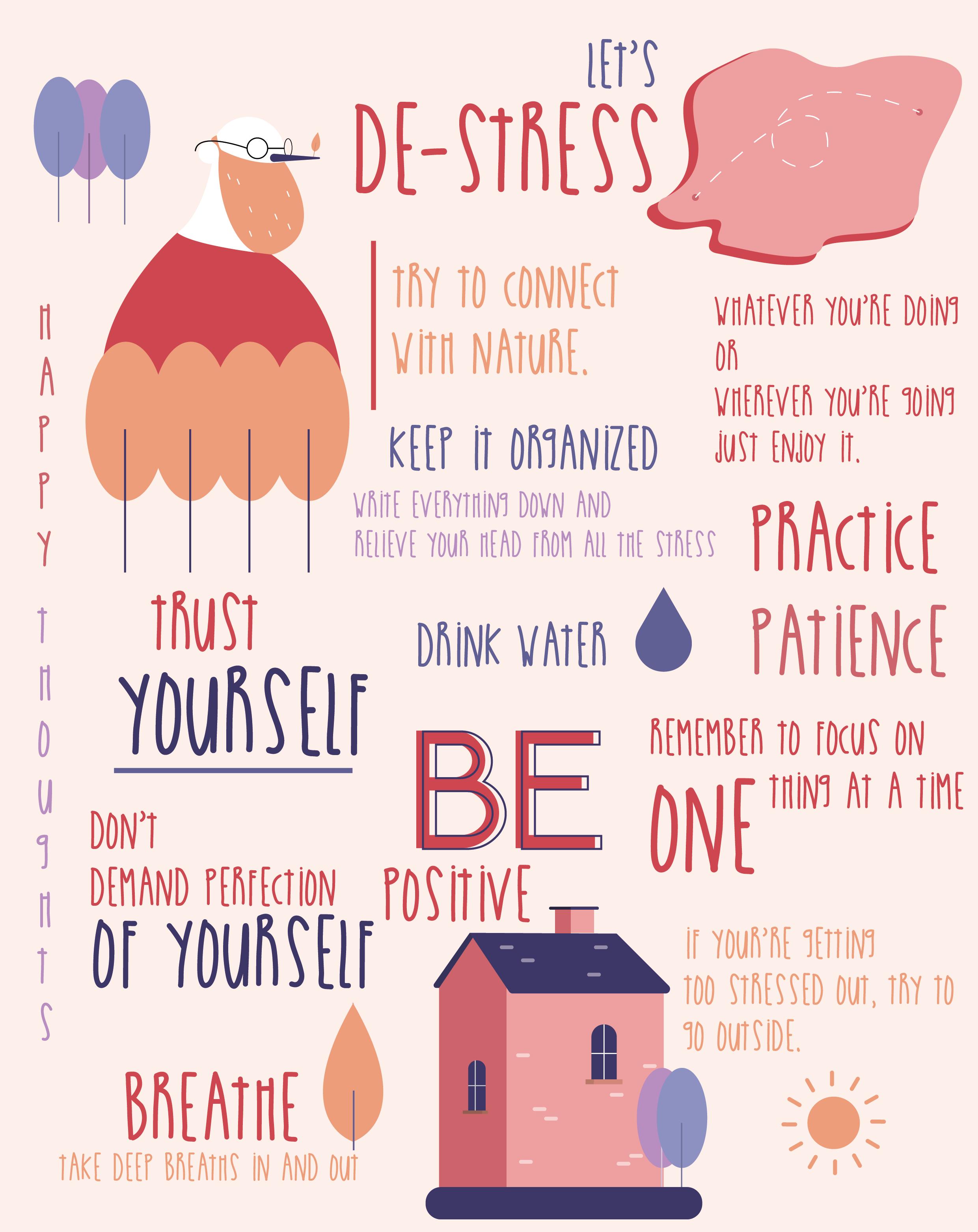 Self Care Stress Illustration Selfcare