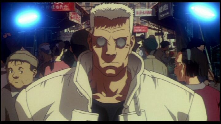 Image Of Batou Anime Vice Ghost In The Shell Anime Ghost Cyberpunk Anime