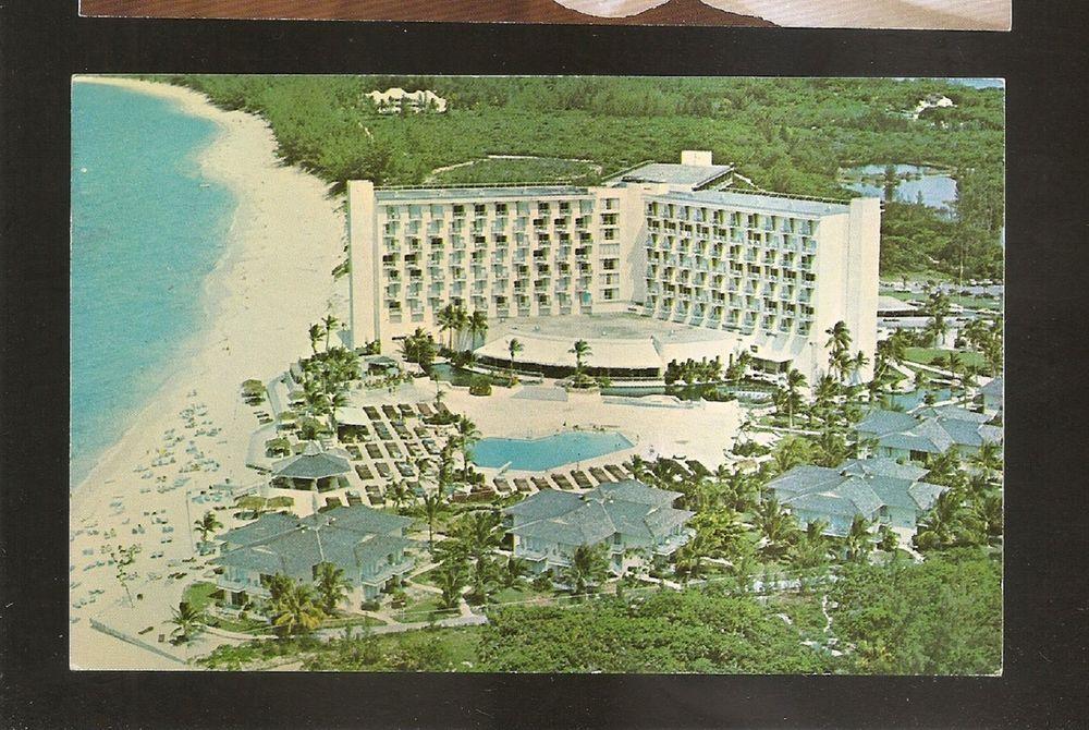 Vtg 1960's Postcard LOEWS PARADISE ISLAND HOTEL & VILLAS