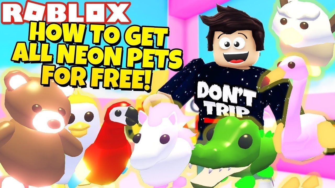 How To Get All Neon Pets For Free In Adopt Me New Jungle Update Roblox Sociihub Blog News How To Get All Neon Pets For Free In Roblox Adoption Pets